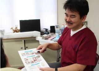 秋山歯科医院_治療の事前説明2