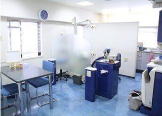 田中歯科クリニック_院内でリラックスできる空間を用意