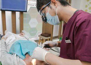 患者様のご要望を聞き、ご納得いただいてから治療をすすめます。