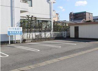 駐車場も完備しています。
