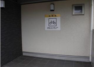 駐輪場もございます。