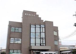 櫛ヶ浜駅出口より徒歩10分で当院に到着いたします。