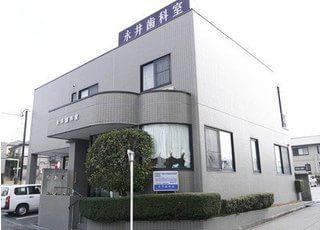 永井歯科室の横には駐車場をご用意しております。