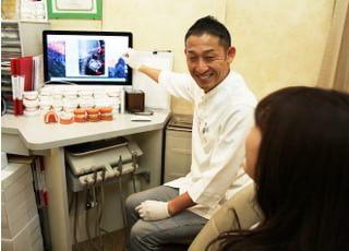 ティースアート矯正歯科 渋谷_難易度の高いティースアートのリラックスできるホワイトニング