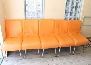 待合室です。リラックスして、お過ごしください。