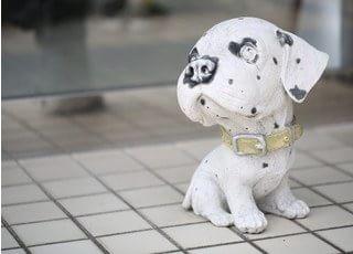 犬の置き物です。