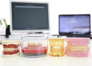 このような歯の模型を用いて、丁寧に診療させていただきます。