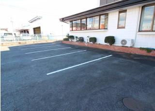お車の方は医院前の駐車場をご利用下さい。