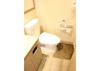 お手洗いは常に清潔にしています。