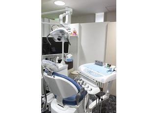 診療スペースは広く快適な空間です。