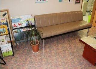 待合室には健康に関する情報を掲載しております。ぜひご覧ください。