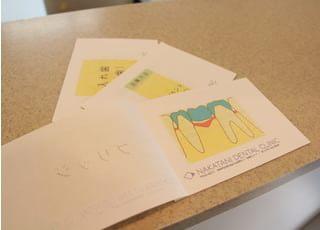中谷歯科クリニック_患者さまがよりよい治療方法の選択をする為に小冊子をお渡しします