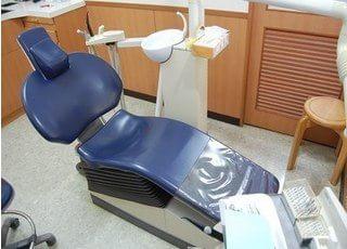 診療室です。不安な点などございましたら、お気軽にご相談くださいませ。