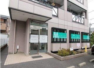 外観です。所沢駅より徒歩7分のところにあります。