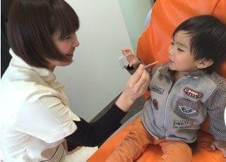 小さなお子様も安心して来院下さい。