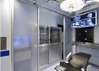 3階オペ室です。インプラント治療などをおこなっております。