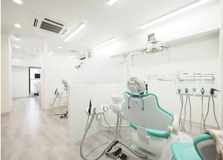 診療室です。なんでもご相談ください。