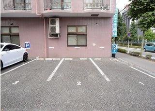 当院は駐車場を完備しております。