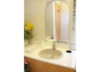 お手洗いは清潔にしております。