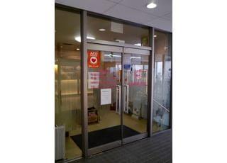 当院の入口です。こちらからお入りください。