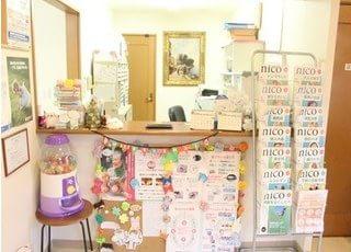バリアフリー対応の広々とした診療室です。