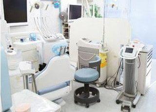 診療室です。どんな小さなお悩みもお気軽にご相談ください。