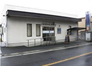 外観です。大和田駅から徒歩3分のところにございます。