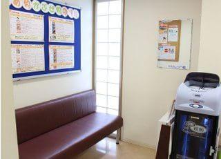 スタッフ写真です。患者様に満足していただける接客を心掛けます。