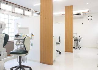 診療室です。清潔に保たれた診療室です。