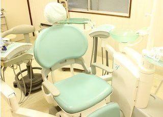 明るい診療室になっております。