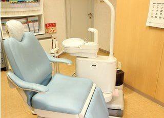 診療室です。患者様のご希望に沿った治療を行っていきます。