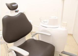 診療室は清潔さを保っています。