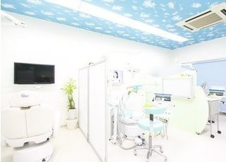 診療室です。こちらでじっくりと治療させていただきます。