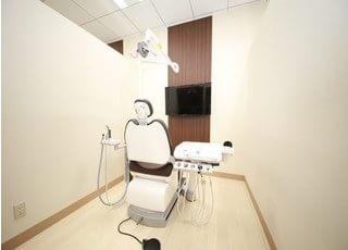 診療室です。健康で快適な毎日を過ごしていただくために、最善の治療を致します。