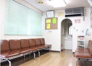 診療までの間、待合室でリラックスしてお待ち下さい。