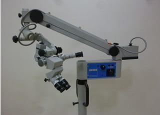 マイクロスコープで細かい所まで見ることができるので、精密な治療が可能です。