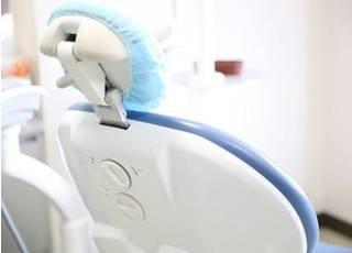 常に清潔な診療チェアで治療を受けていただきます。