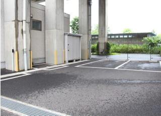 駐車場が備わっています。