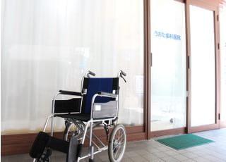 1階診療室は車いすをご利用の方にもお越しいただきやすいです