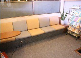 待合室です。くつろいでお待ちください。