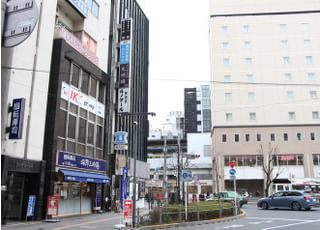 高円寺デンタルクリニックの外観です。
