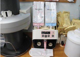 歯科医療に活用する機器です。