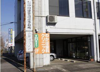 医院は大通り沿いに面しており分かりやすいです。