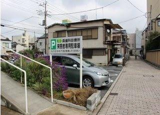 駐車場も備えております。