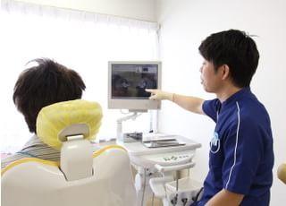 すえなが歯科クリニック_リラックスできる空間で理解しやすくご説明