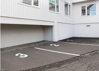 3台分の駐車場がございます。