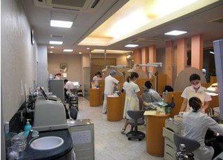 診療室です。一人一人に丁寧な診療を心がけています。