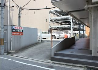 駐車場がありますので、お車でお越しの際はご利用ください。
