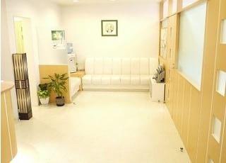広い待合室です。