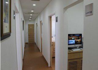 診療室は個室制なので、プライベート空間をお楽しみいただけます。